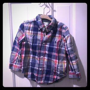 Baby Boy Ralph Lauren Plaid Button-Down